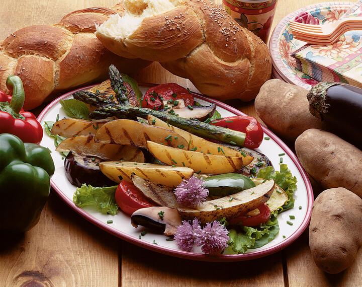 Grilled Idaho® Potato Ratatouille Salad